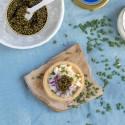 Tartaletas con Caviar del Tíbet