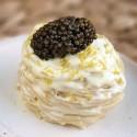 Spaghetti al limone con Caviar del Tíbet