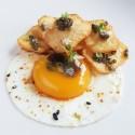Pulpo con patatas confitadas y Caviar
